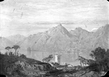 Brooklyn Museum: Lake Maggiore (North Italian Lake)