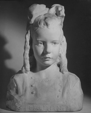 Chester Beach (American, 1881-1956). Helen, ca. 1909-1910. Marble, 19 x 14 x 10 1/2 in. (48.3 x 35.6 x 26.7 cm). Brooklyn Museum, Gift of Pamela Nesbet, Robert L. Thirkield and Gilbert H. Thirkield, Jr., 73.58. Creative Commons-BY