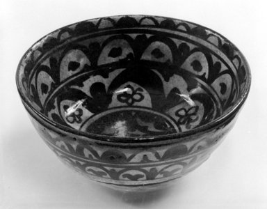 Bowl, ca. 1924. Stoneware, 2 3/4 x 6 1/4 x 6 1/4 in. (7 x 15.9 x 15.9 cm). Brooklyn Museum, Gift of Mr. and Mrs. Tessim Zorach, 74.1.2. Creative Commons-BY