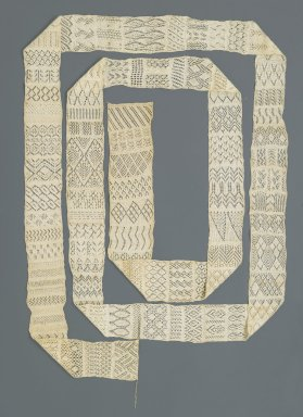 Brooklyn Museum: Knitted Sampler