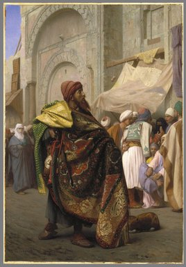 Brooklyn Museum: The Carpet Merchant of Cairo