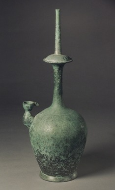 Kundika, 12th-13th century. Cast bronze, H: 14 5/8 x W: 4 7/8 in. (37.2 x 12.4 cm). Brooklyn Museum, Gift of Paul E. Manheim, 74.27. Creative Commons-BY