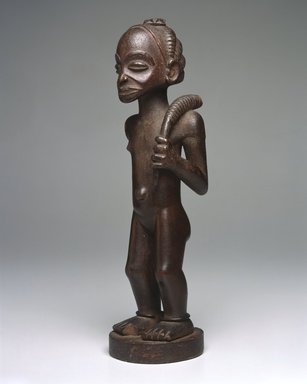 Brooklyn Museum: Female Figure with Horn (Kaponya)
