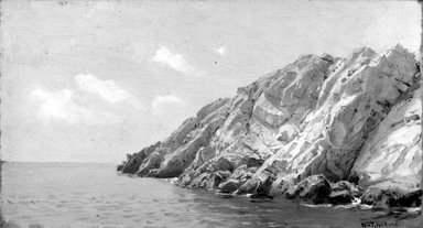 Brooklyn Museum: Rocky Coast