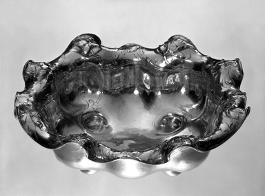 Gorham Manufacturing Company (founded 1865). Bowl, ca. 1905. Silver, 3 11/16 x 11 1/2 x 11 1/2 in. (9.4 x 29.2 x 29.2 cm). Brooklyn Museum, Gift of Mr. and Mrs. Philip C. Schwartz, 75.23. Creative Commons-BY