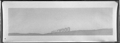 Edward Ruscha (American, born 1937). Fruit Metrecal Hollywood, 1971. Organic silkscreen on paper, sheet: 14 5/8 x 41 7/8 in. (37.1 x 106.4 cm). Brooklyn Museum, Gift of Wendy F. Findlay, 76.16.10. © Edward Ruscha