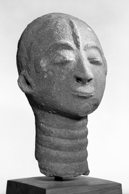 Akan. Funerary Portrait Head (Nsodie), 17th or 18th century. Terracotta, 8 1/2 in. (21.6 cm). Brooklyn Museum, Gift of Dr. and Mrs. Eugene Becker, 76.161. Creative Commons-BY
