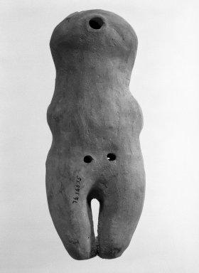 Jama Coaque. Standing Figure. Brooklyn Museum, Gift of Egizia Modiano, 76.166.15. Creative Commons-BY