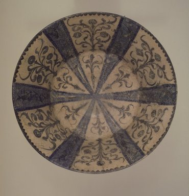 Bowl, 13th century. Ceramic, 5 1/8 x 11 in. (13 x 27.9 cm). Brooklyn Museum, Gift of Dr. Virgil H. Bird, 76.174. Creative Commons-BY