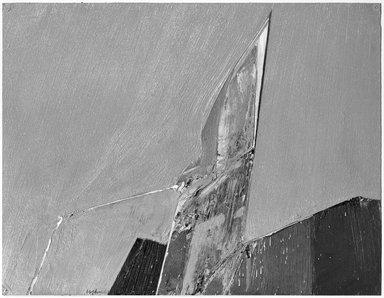 Budd Hopkins (American, 1931-2011). 67-4, 1965. Oil on Bristol board, 17 x 23 in. (43.2 x 58.4 cm). Brooklyn Museum, Gift of Paul F. Walter, 76.196.5. © Estate of Budd Hopkins