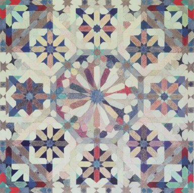 Joyce Kozloff (American, born 1942). Sixteen-Point Star Pattern II, 1975. Colored pencil and gouache on paper Brooklyn Museum, John B. Woodward Memorial Fund, 76.73. © Joyce Kozloff