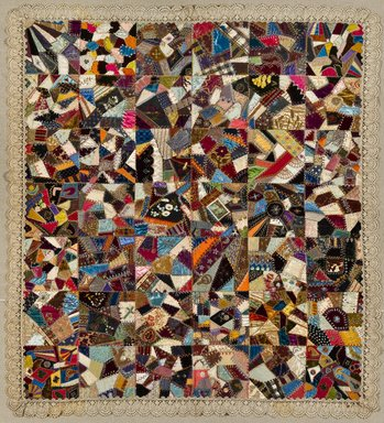 Brooklyn Museum: Crazy Quilt