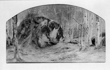 Brooklyn Museum: Madison Boulder, Conway, New Hampshire