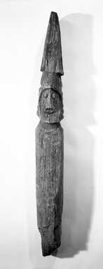 Amhara. Funerary Figure. Wood Brooklyn Museum, Gift of the Edwards-Britt Collection, 77.174. Creative Commons-BY
