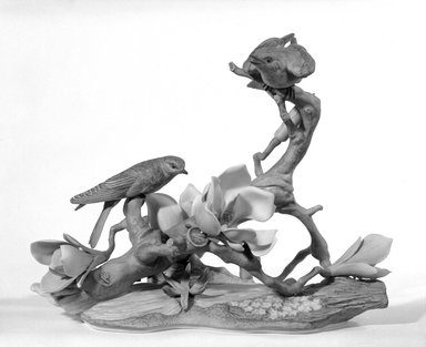 Edward Marshall Boehm, Inc. (founded 1950). Figure, 1963-1968. Porcelain, 11 1/2 x 6 3/4 x 12 1/2 in. (29.2 x 17.1 x 31.8 cm). Brooklyn Museum, Gift of Dr. and Mrs. Herman S. Alpert, 77.187.2. Creative Commons-BY