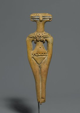 Brooklyn Museum: Figurine of a Steatopygous Female