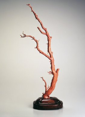 Tree, early 19th century. Natural coral with wooden base, 30 1/8 x 13 3/8 x 7 1/4 in. (76.5 x 34 x 18.4 cm). Brooklyn Museum, Gift of Mr. and Mrs. Nat Bass, 77.53. Creative Commons-BY