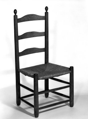 Shaker Community. Side Chair, ca. 1815-1870. Pine, 37 1/2 x 17 3/4 x 14 3/4 in. (95.3 x 45.1 x 37.5 cm). Brooklyn Museum, Gift of Mrs. Oscar Bernstien, 77.84.8. Creative Commons-BY