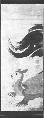 Brooklyn Museum: Minogame, The Thousand Year Old Tortise