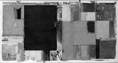 William Dole (American, 1917-1983). Trés Riche, 1977. Paper collage, 5 1/2 x 10 1/8 in. (14 x 25.7 cm). Brooklyn Museum, Caroline H. Polhemus Fund, 78.10. © Estate of William Dole