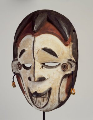 Igbo (southern). Maiden Spirit Mask, early 20th century. Wood, pigment, beads, 9 x 6 1/4 x 3in. (22.9 x 15.9 x 7.6cm). Brooklyn Museum, Gift of Mr. and Mrs. Paul B. Taylor, 78.118.6. Creative Commons-BY