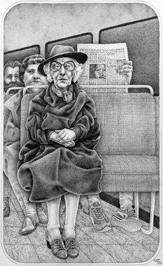 Nancy Lawton (American, 1950-2007). Newspaper, 1978, 1978. Graphite on paper, sheet: 22 1/8 x 15 in. (56.2 x 38.1 cm). Brooklyn Museum, Designated Purchase Fund, 78.234. © Estate of Nancy Lawton