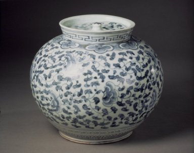 Brooklyn Museum: Jar with Lid