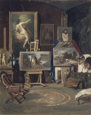 Brooklyn Museum: Studio Interior