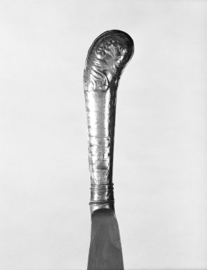 Daniel Bloom Coen. Knife, ca. 1800. Silver and steel, L: 8 in. (20.3 cm). Brooklyn Museum, Gift of Mr. and Mrs. Joseph Hennage, 78.77.1. Creative Commons-BY