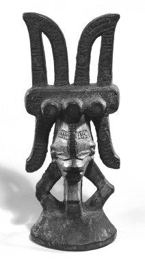 Igbo, Okoba. Figure (Ikenga), early 20th century. Wood, 8 1/4in. (21cm). Brooklyn Museum, Gift of Mr. and Mrs. Uzi Zucker, 79.117.1. Creative Commons-BY