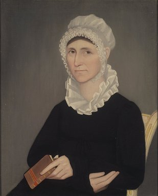 Ammi Phillips (American, 1788-1865). Betsey Beckwith, ca. 1817. Oil on canvas, 30 1/2 x 24 9/16 in. (77.4 x 62.4 cm). Brooklyn Museum, Gift of Mrs. Harold J. Roig, 79.133.1