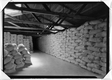 Lewis Wickes Hine (American, 1874-1940). [Untitled] (Jersey Flour Mills), ca. 1937-1938. Gelatin silver photograph, 5 x 7 in.  (12.7 x 17.8 cm). Brooklyn Museum, Gift of The National Archives, 79.143.3