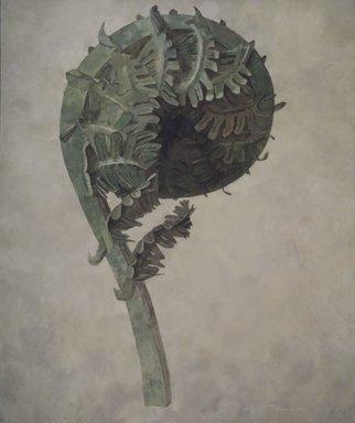 Buffie Johnson (American, 1912-2006). Fiddlehead, 1968. Oil on canvas, 81 1/2 x 68 1/2 in. (207 x 174 cm). Brooklyn Museum, Gift of Joan Semel, 79.16. © Jenny Johnson Sykes