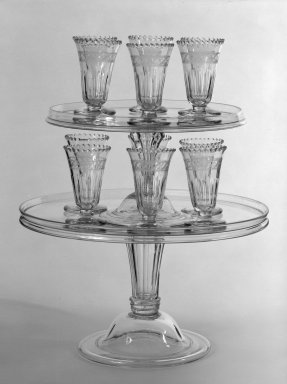 Jelly Glass, ca. 1790. Free-blown glass, 4 x 2 3/8 in. (10.2 x 6 cm). Brooklyn Museum, 79.172.12. Creative Commons-BY