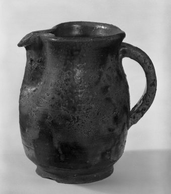 J. B. Blunk (American,). Pitcher, 1953-1954. Bizen ware, 4 3/4 x 4 1/4 in. (12.1 x 10.8 cm). Brooklyn Museum, Gift of Sidney B. Cardozo, Jr., 79.178.1. Creative Commons-BY