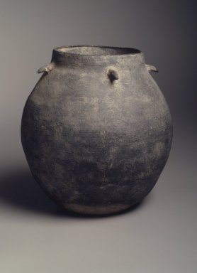 Storage Jar, 5th-6th century. Stoneware, Height: 7 3/16 in. (18.3 cm). Brooklyn Museum, Gift of Jean Alexander, 79.246.1. Creative Commons-BY