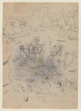 Brooklyn Museum: Lion Hunt