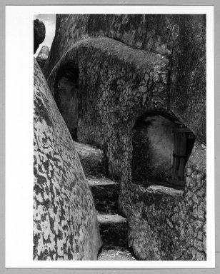 Manuel Alvarez Bravo (Mexican, 1902-2002). Ventana al Coro, ca. 1933-1936. Gelatin silver photograph, image: 9 3/8 x 6 1/2 in. (23.8 x 16.5 cm). Brooklyn Museum, Gift of William Berley, 79.294.4. © Colette Urbajtel/Asociación Manuel Álvarez Bravo