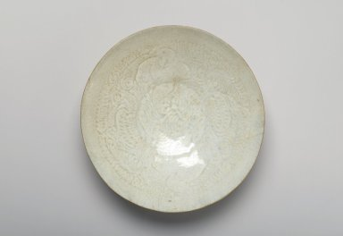 Bowl, 960-1127. Porcelain with qingbai glaze, 2 1/8 x 7 1/2 in. (5.4 x 19 cm). Brooklyn Museum, Gift of the Elaine and Harvey Rothenberg Foundation and Designated Purchase Fund, 80.121. Creative Commons-BY