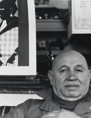 Arthur Mones (American, 1919-1998). Romare Bearden. Gelatin silver photograph Brooklyn Museum, Gift of George Feher, 80.130.2. © Estate of Arthur Mones