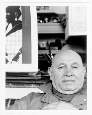 Arthur Mones (American, 1919-1998). Romare Bearden. Gelatin silver photograph Brooklyn Museum, Gift of George Feher, 80.130.2. © Estate of Arthur Mones