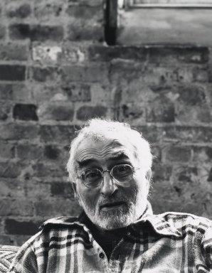 Arthur Mones (American, 1919-1998). Milton Resnick. Gelatin silver photograph Brooklyn Museum, Gift of George Feher, 80.130.3. © Estate of Arthur Mones