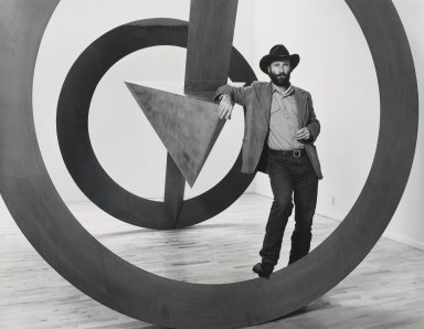 Arthur Mones (American, 1919-1998). Bruce Nauman. Gelatin silver photograph Brooklyn Museum, Gift of George Feher, 80.130.5. © Estate of Arthur Mones