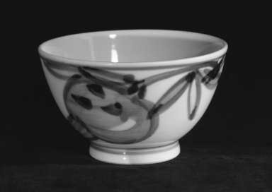 Kondo Yuzo (Japanese, 1902-1985). Yunomi, ca. 1970. Porcelain, 2 1/8 x 3 3/4 in. (5.4 x 9.5 cm). Brooklyn Museum, Gift of Sidney B. Cardozo, Jr., 80.175.5. Creative Commons-BY