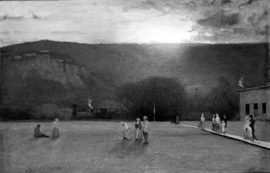 Brooklyn Museum: The Rigor of the Game, Kearsarge Hall, North Conway, New Hampshire
