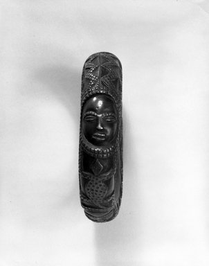Kongo (Yombe subgroup). Bracelet (Lunga di Lemba), late 19th-early 20th century. Copper alloy, Diam: 4 3/8 in. (11.1 cm). Brooklyn Museum, Purchased with funds given by Mr. and Mrs. Milton F. Rosenthal, 80.1. Creative Commons-BY