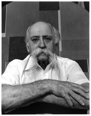 Arthur Mones (American, 1919-1998). Ilya Bolotowsky. Gelatin silver photograph Brooklyn Museum, Gift of Ruth Mones, 80.226.2. © Estate of Arthur Mones