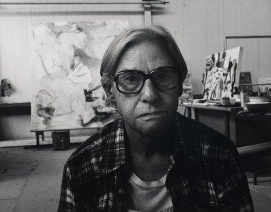 Arthur Mones (American, 1919-1998). Willem de Kooning. Gelatin silver photograph Brooklyn Museum, Gift of Ruth Mones, 80.226.6. © Estate of Arthur Mones