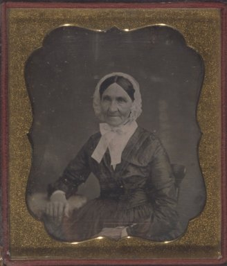 [Untitled] (Portrait of an Older Woman), ca. 1850's. Daguerreotype Brooklyn Museum, Gift of Mrs. Harold J. Roig, 80.231.9