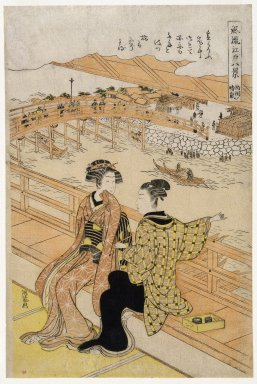Brooklyn Museum: Couple Seated by a River